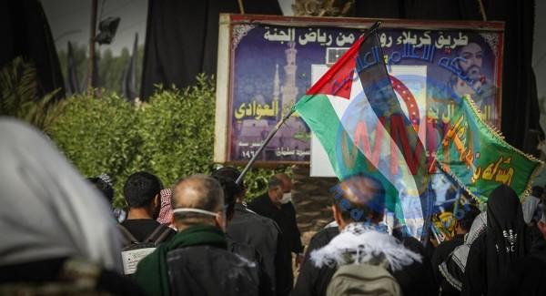 بالصور.. المواكب الحسينية في كربلاء تتجاوز الـ 10 الآف