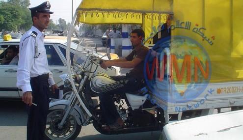 عمليات بغداد تمنع حركة الدراجات النارية والهوائية إعتباراً من الغد