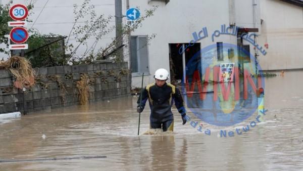 """ارتفاع عدد ضحايا إعصار""""هاغيبس"""" في اليابان إلى 70 قتيلاً"""