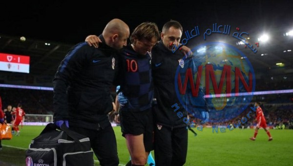 ريال مدريد يكشف طبيعة إصابة مودريتش