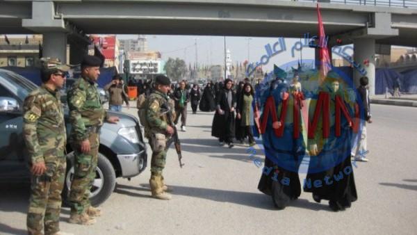 ديالى.. مقتل انتحاري وتدمير 3 مضافات وشرطة المحافظة تعلن نجاح خطة زيارة الاربعين