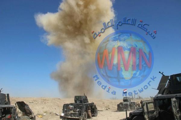 حرق 7 اوكار واصابة ثلاثة عناصر لداعش في ديالى