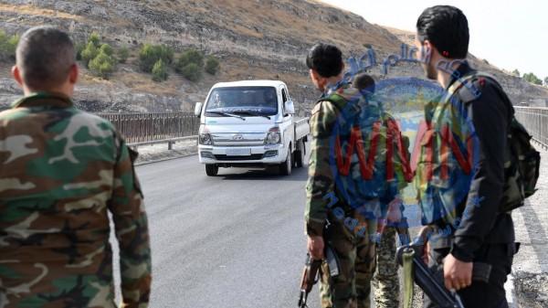 انسحاب القوات الكردية من المنطقة الآمنة شمال سوريا