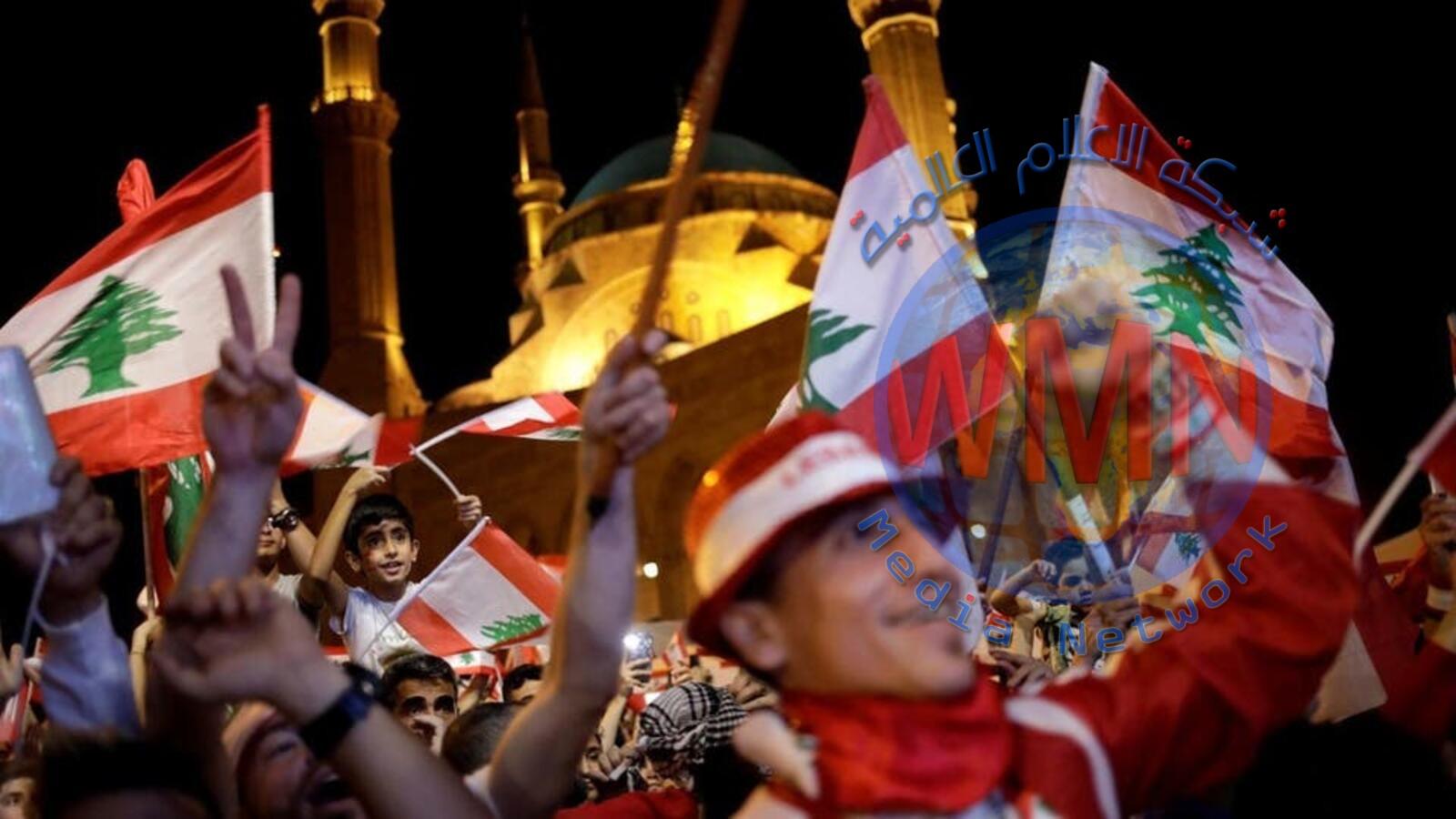 متظاهرون يتعهدون بمنع عقد جلسة للبرلمان وانتشار أمني كثيف وسط بيروت