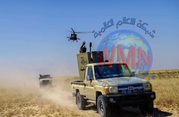 الحشدالشعبي يؤمن طريق عكاشات – القائم ويفشل محاولات داعش لاختراقه