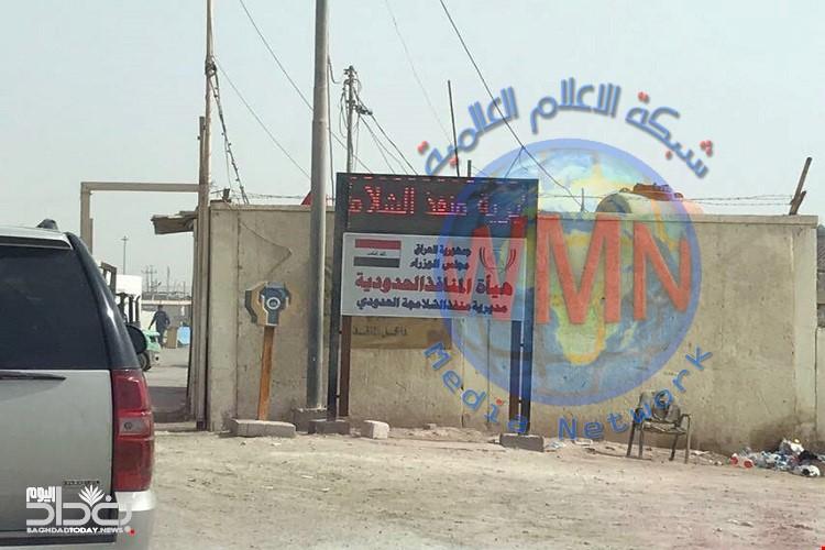 إغلاق منفذ الشلامجة الحدودي بسبب التظاهرات التي تشهدها عدد من المحافظات الإيرانية