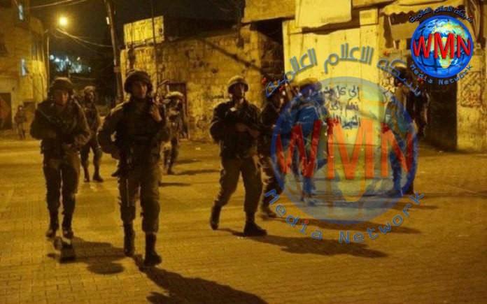 الاحتلال الاسرائيلي يعتقل 15 فلسطينيا في الضفة