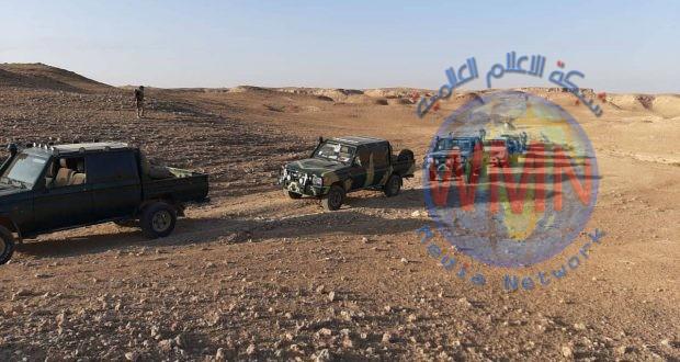 الحشد الشعبي والقوات الأمنية يدمران أنفاقا لداعش بعملية أمنية في صحراء الانبار
