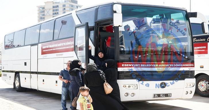 عودة 99 لاجئا عراقيا من تركيا الى البلاد