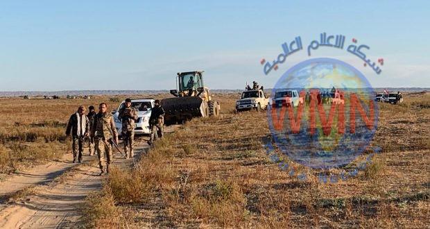 الحشد الشعبي يطلق عملية أمنية في جزيرة مطيبيجة ويعثر على مضافات لداعش