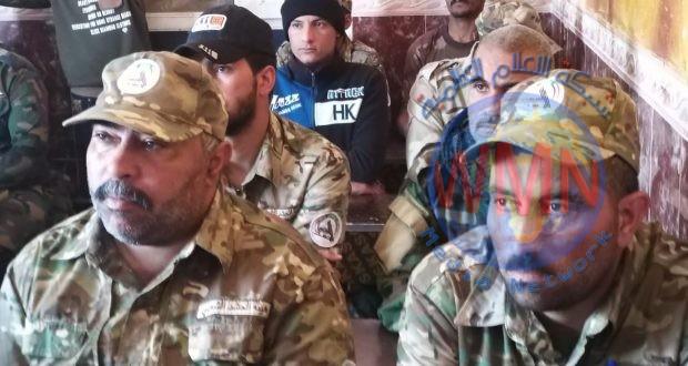 اللواء التاسع بالحشد الشعبي يقيم دورة عقائدية لـ150 مقاتلا من الحشد الشعبي