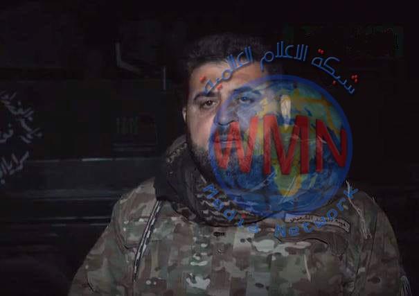 """الحشدالشعبي يواصل عملية تامين وحماية منطقة عكاشات من خطر """"داعش"""""""