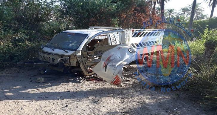 اصابة مزارع بتفجير عبوة ناسفة شمال شرقي ديالى