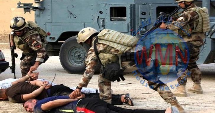 القبض على أربعة دواعش في أيمن الموصل