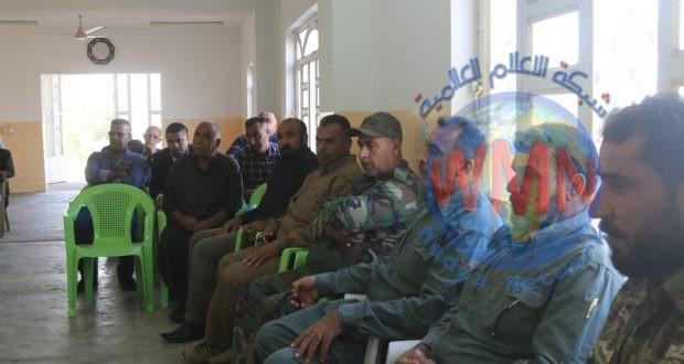 """الحشدالشعبي يعقد اجتماعا أمنيا موسعا في ديالى لبحث الاستمرار بمطاردة فلول """"داعش"""""""