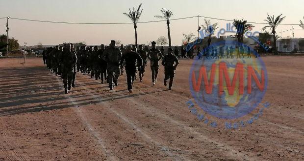 اللواء 13 بالحشد الشعبي يفتتح دورة لرفع المستوى القتالي والبدني لمقاتليه