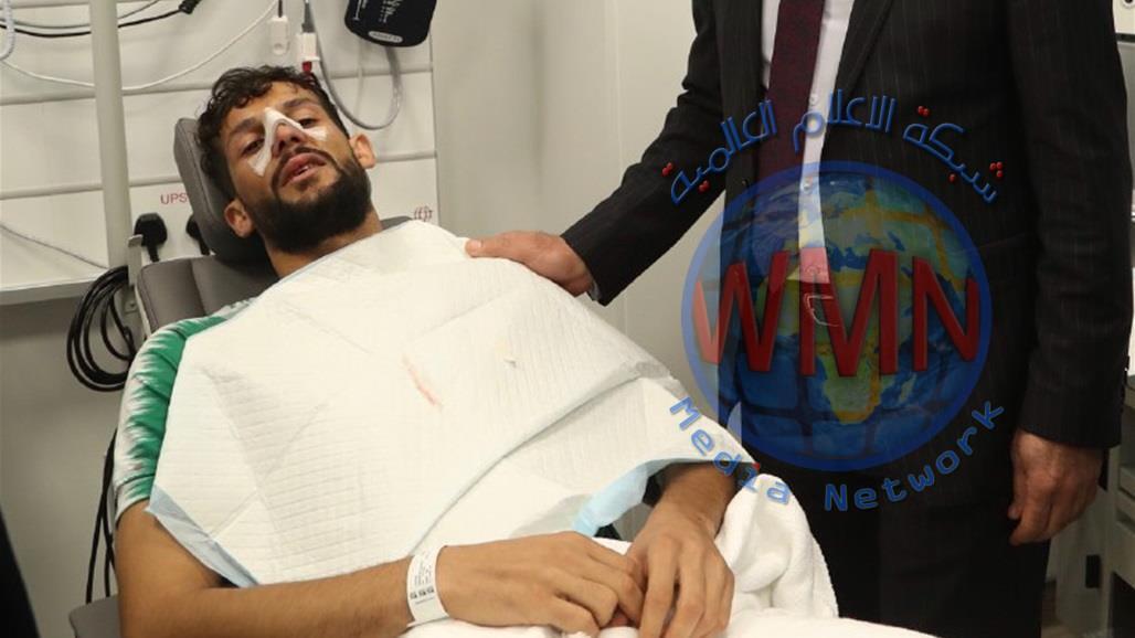 """ثلاثة كسور في الانف تنهي مشوار سعد ناطق في """"خليجي 24"""""""