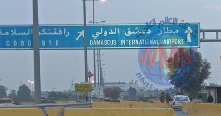 سماع دوي انفجارات قرب مطار دمشق الدولي