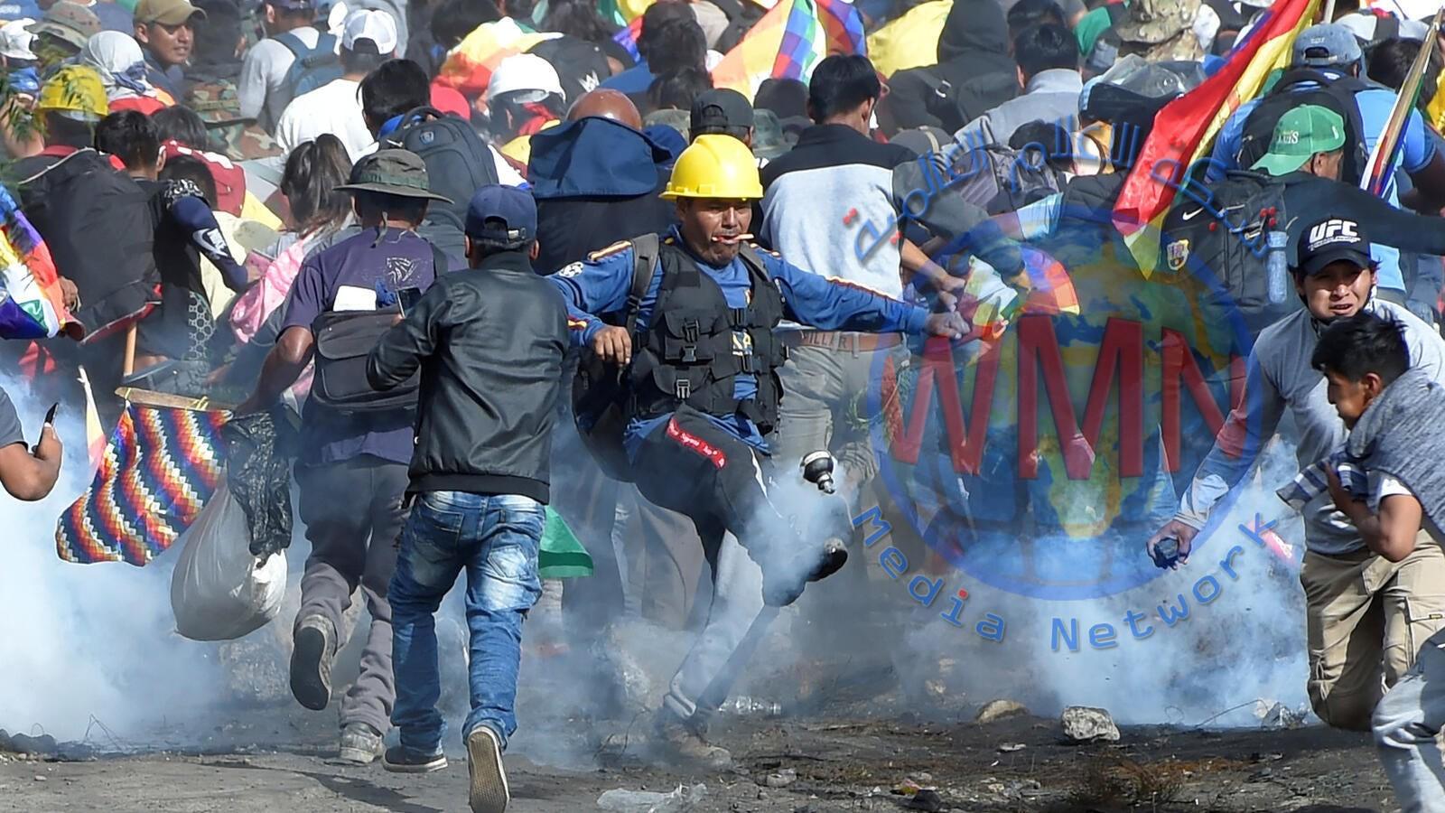 23 قتيلا و 715 مصابا في احتجاجات بوليفيا