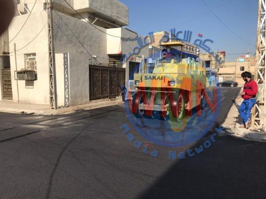 تطوير واكساء محلة سكنية جنوب بغداد