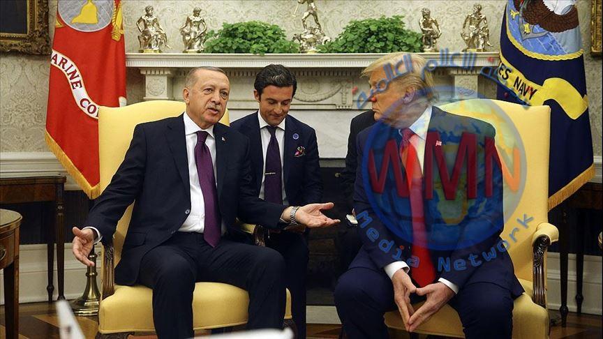 انطلاق اجتماع الوفدين التركي والأمريكي برئاسة أردوغان وترامب