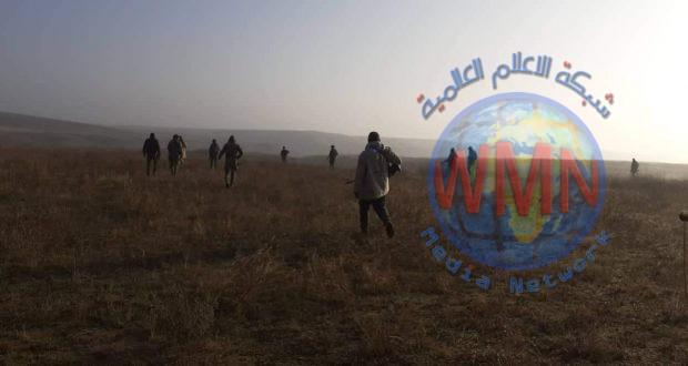 الحشد والجيش يعثران على خمسة أنفاق لداعش في وادي الثرثار جنوب الموصل