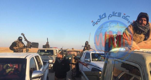 الحشد الشعبي والقوات الأمنية يشرعان بالمرحلة السابعة لعمليات إرادة النصر لملاحقة فلول داعش في ثلاث محافظات