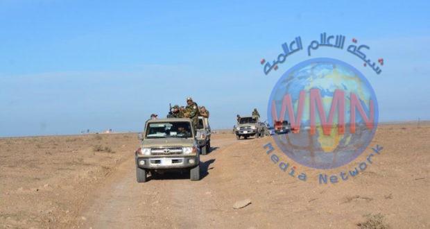 اللواء السابع في الحشد الشعبي ينفذ عملية استباقية لملاحقة فلول داعش شرق الأنبار