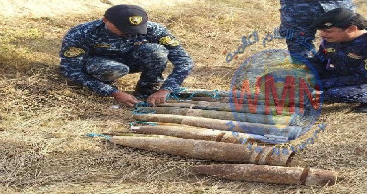 الاتحادية تتلف 13 صاروخاً من مخلفات داعش في سامراء