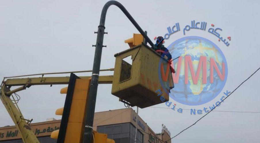 أمانة بغداد : تأهيل 60 تقاطعاً مرورياً في العاصمة