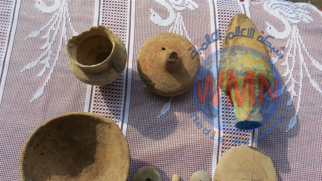 العثور على ثمان قطع أثرية في ذي قار