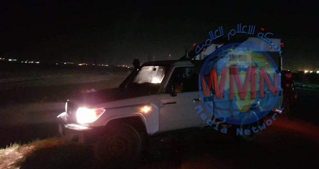 الحشد الشعبي ينفذ مهمة إنسانية بين بغداد وكركوك
