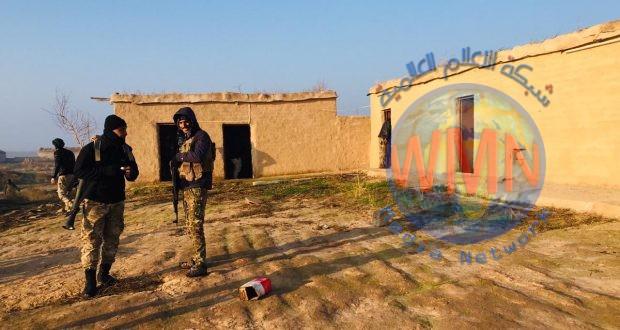 الحشد والجيش يعثران على مضافة لداعش في وادي الثرثار جنوب الموصل