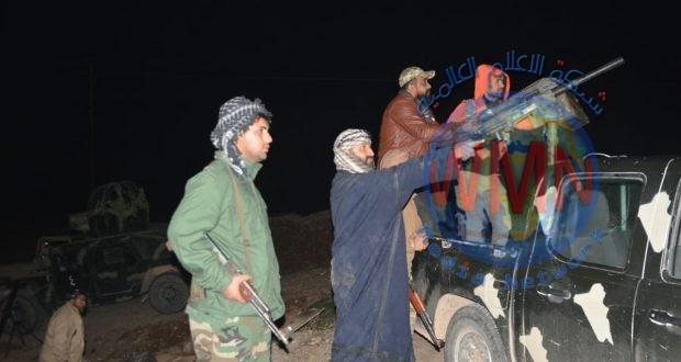 اللواء الرابع للحشد تعالج تجمعا لداعش بعد رصد تحركاتهم لاستهداف شمال شرق ديالى