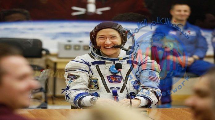 تحطم الرقم القياسي لأطول رحلة فضائية تقوم بها امرأة