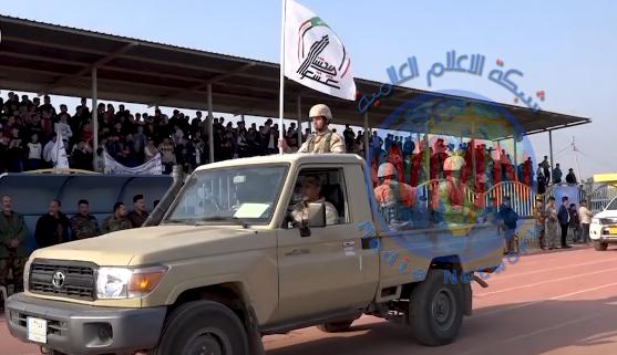 """الحشدالشعبي والقوات الأمنية يستعرضان خلال مهرجان """"بلد الصمود5"""""""