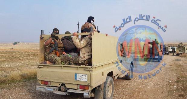 الحشد الشعبي ينفذ عملية أمنية لمطاردة داعش في ديالى