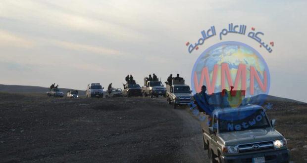 في خطوة استباقية.. وصول تعزيزات عسكرية كبيرة للواء 8 في الحشد لتأمين الحدود جنوب الموصل