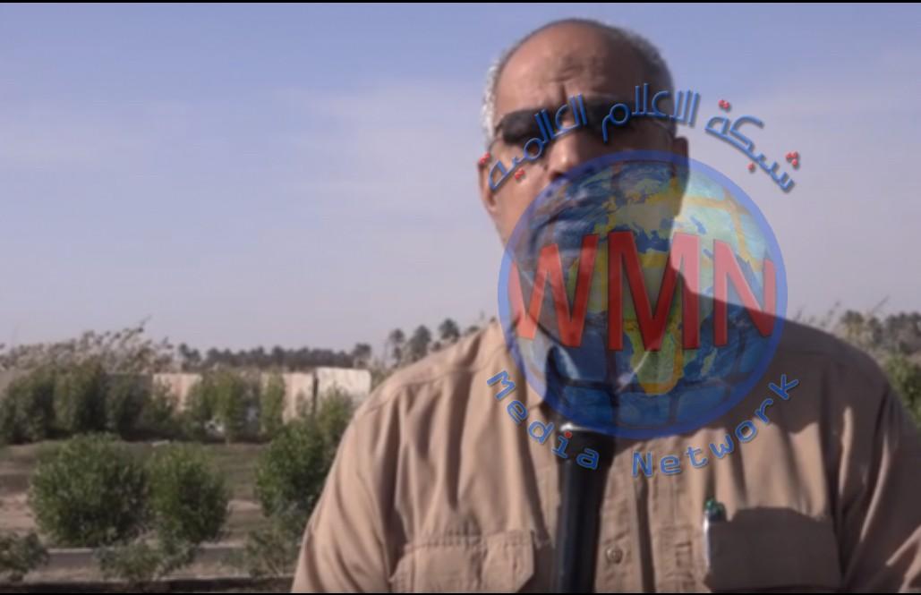 قائد عمليات الفرات الأوسط للحشد الشعبي علي الحمداني يوكد علئ  اهمية تعزيز الجهود واليقظة التامة للحفاظ على الامن