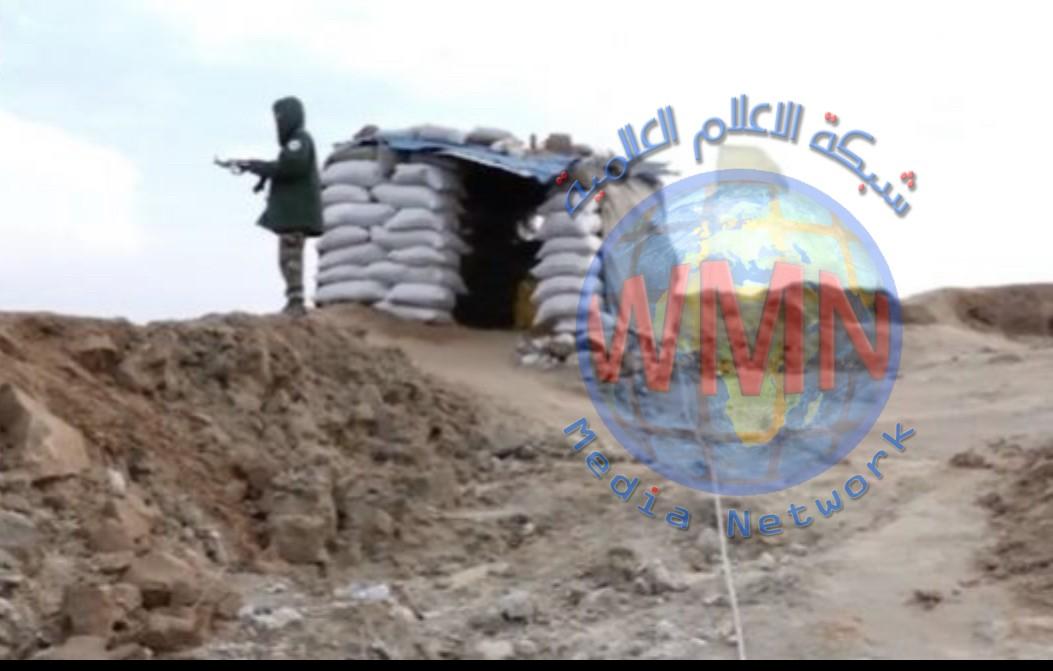 """الحشد يقطع خطر تسلل """"داعش"""" إلى تكريت والعلم باحكام قبضته على السلسلة الجبلية"""