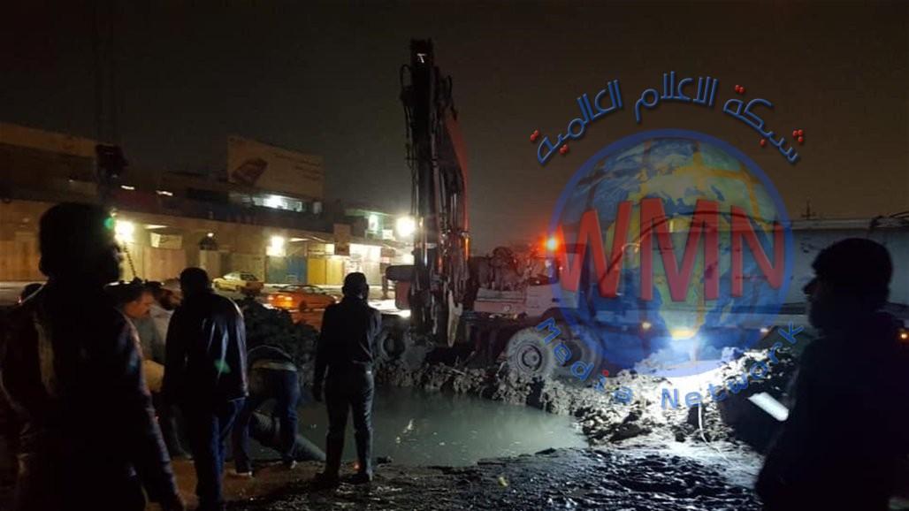 توضيح من امانة بغداد بشأن انقطاع الماء عن بعض مناطق العاصمة
