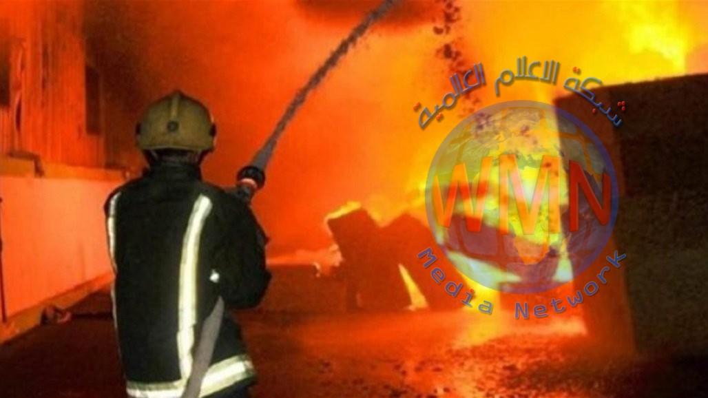 حريقان احدهما تسبب بمصرع شخصين في بغداد