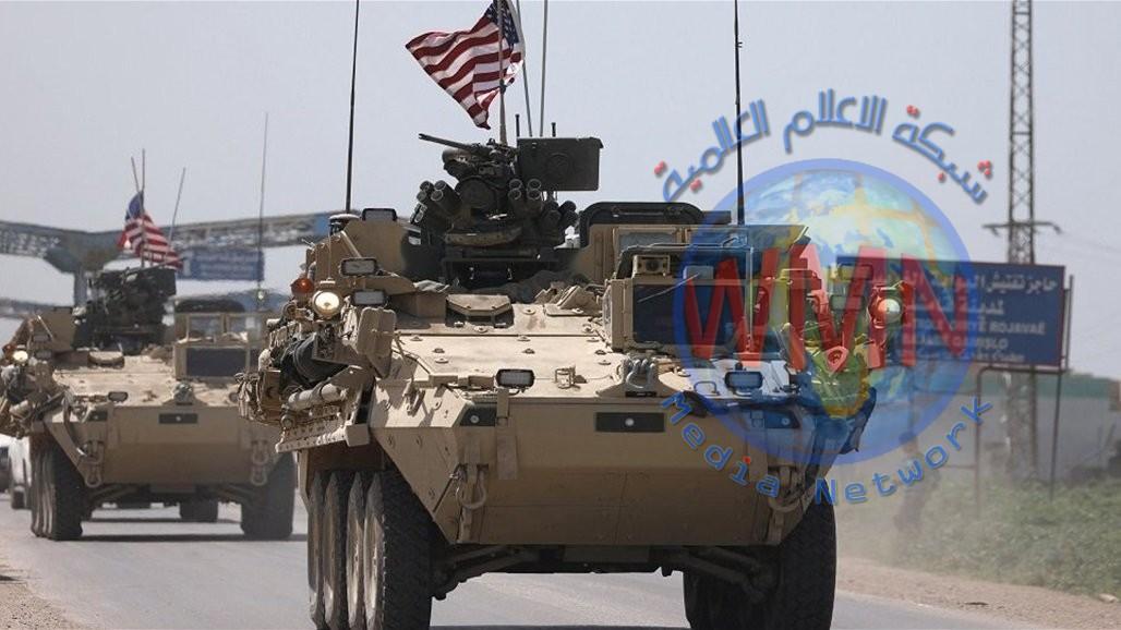قافلة عتاد أمريكية كبيرة تعبر الحدود العراقية إلى الحسكة