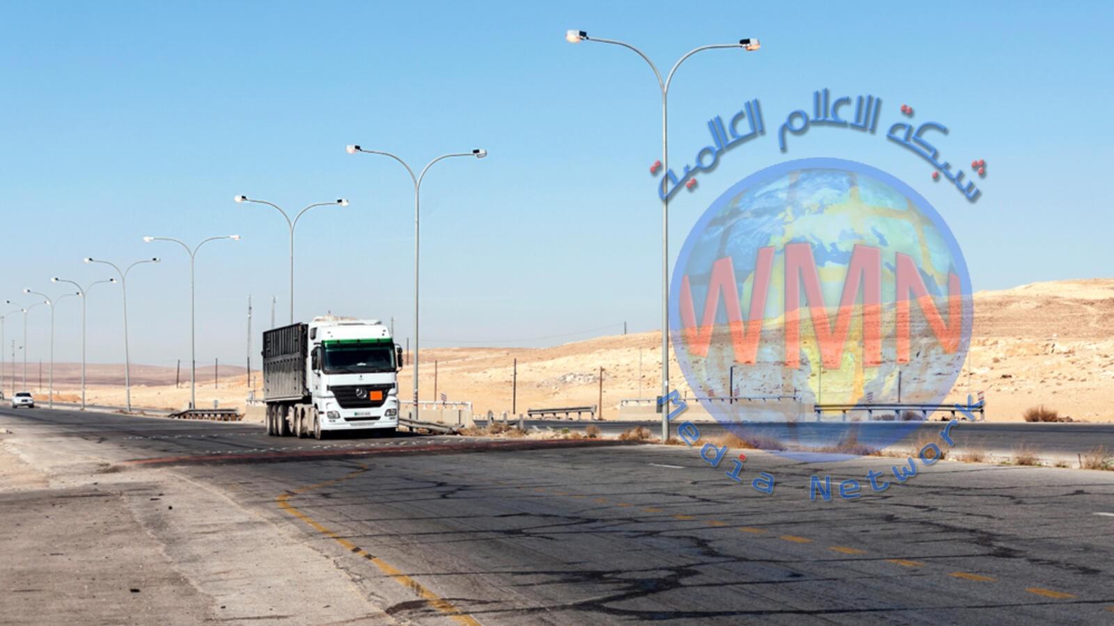 سوريا تلغي الرسوم الإضافية على الشاحنات الأردنية