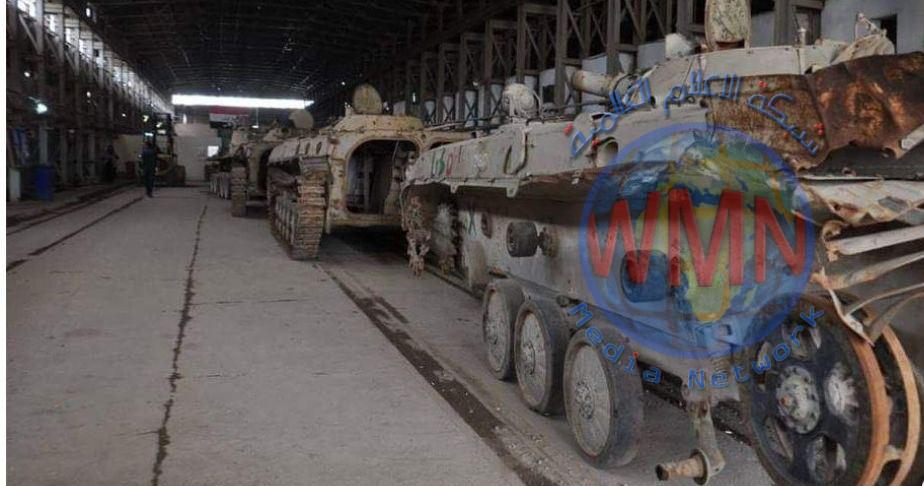وزارة الصناعة تبدي استعدادها لتأهيل وصيانة المعدات العسكرية