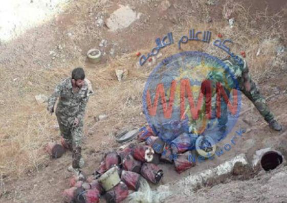 العثور على وكرين لداعش وتفجير عبوتين بعملية امنية في ديالى