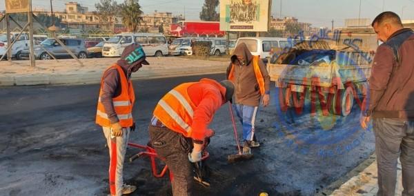 اعادة فتح تقاطع حيوي شرق بغداد