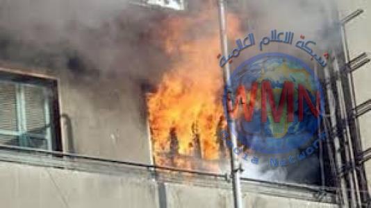 إنقاذ عائلة حاصرتها النيران داخل شقة في الاعظمية