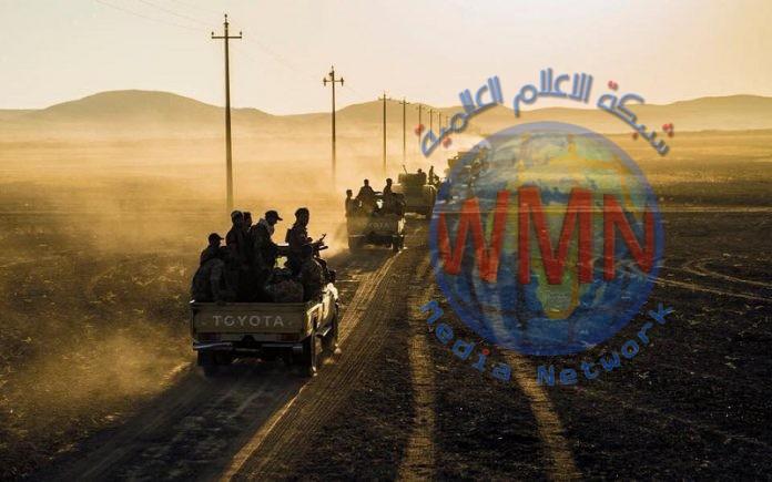 الحشد الشعبي يوضح الغاية من تنفيذ العمليات الأمنية في الصحراء المحاذية للانبار