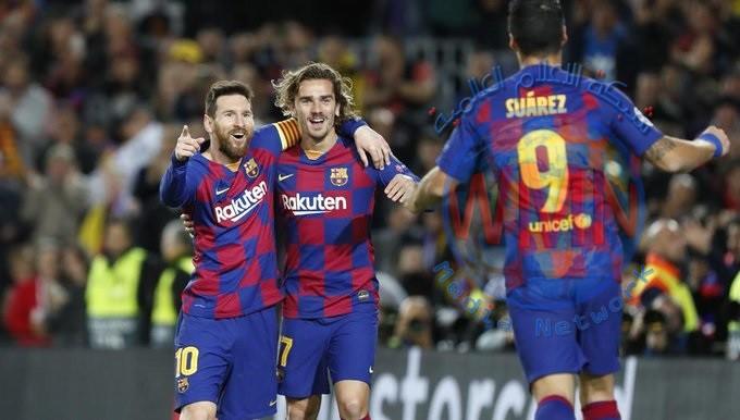 برشلونة يتعادل مع اسبانيول ويستعيد صدارة الدوري الاسباني